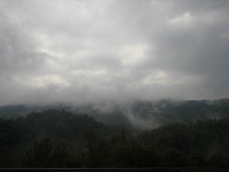 Непогода застала нас в пути...