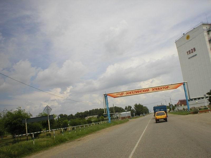 В Ростовской области такие элеваторы - в каждом селе