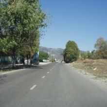 Дорога с мыса Дооб