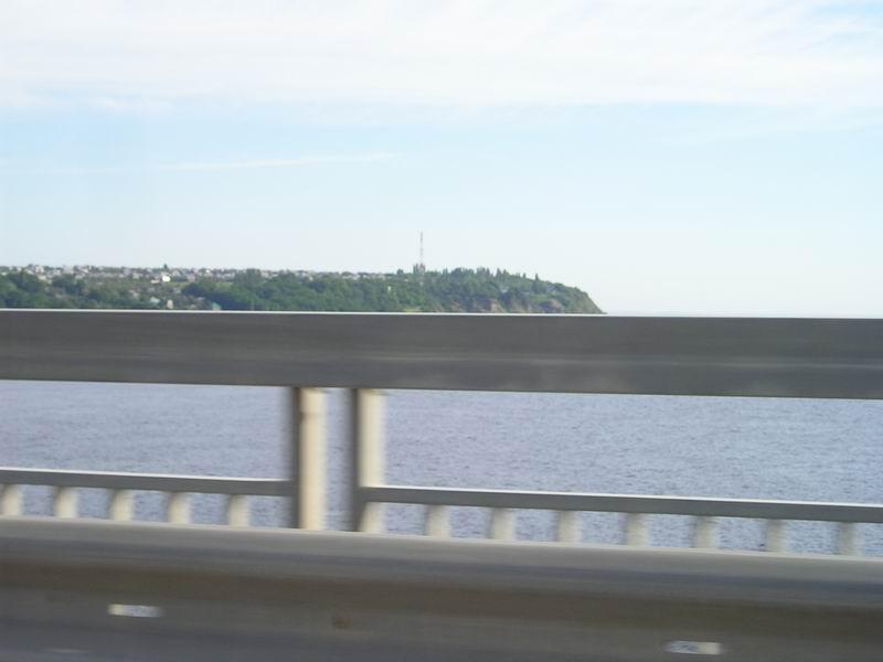 Мост через Волгу у Саратова
