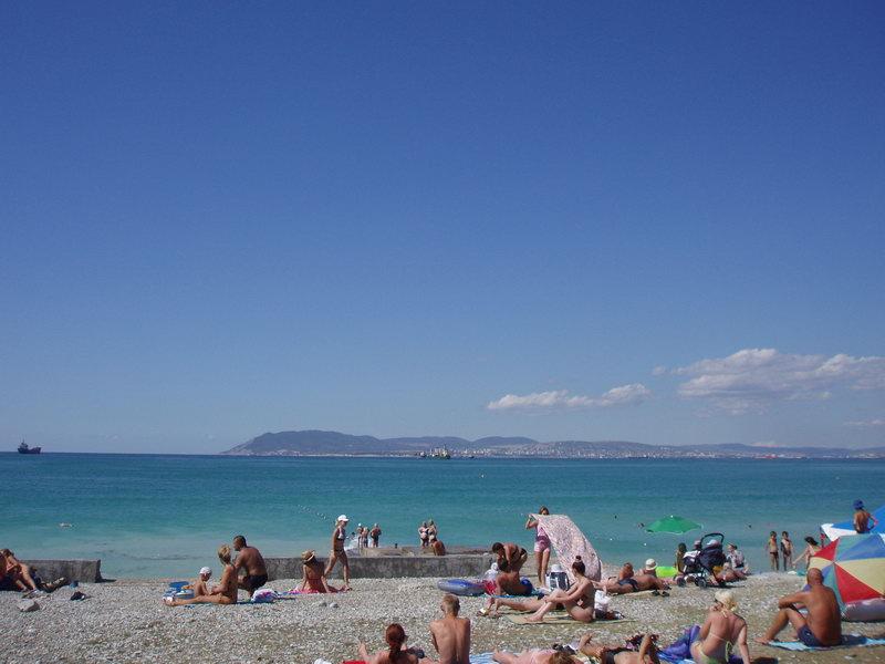 Кабардинка. Пляж.