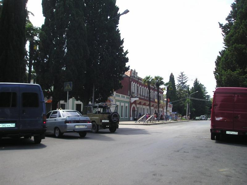 Пешеходная улица К.Маркса