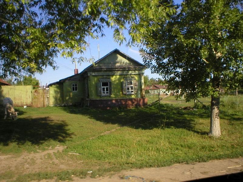 В поселках Саратовской области