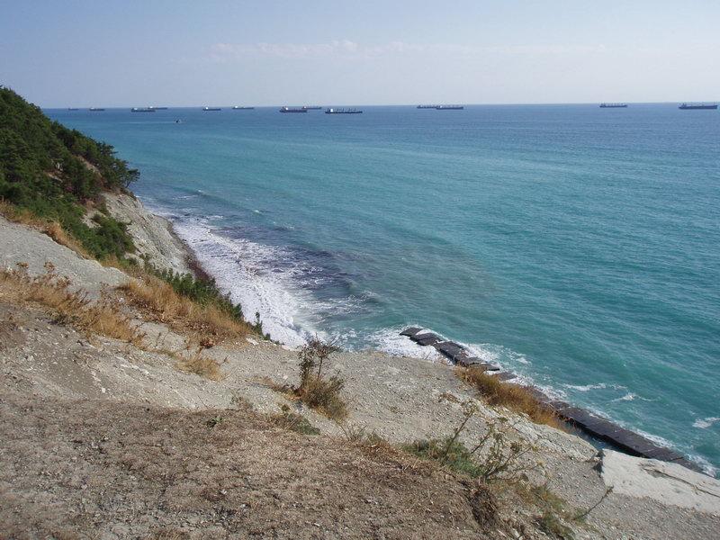 Вид на море с мыса Дооб