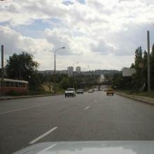 Едем через Волгоград