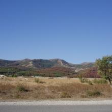 Дорога в сторону Геленджика