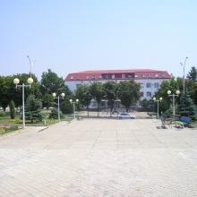 Сквер в центре города