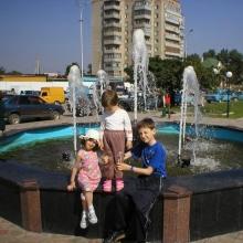 Сальск. Фонтан на площади
