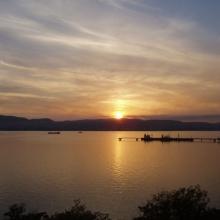 Закат над Цемесской бухтой