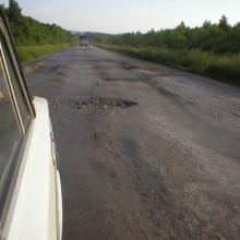 И снова веселая дорога в Саратовской области