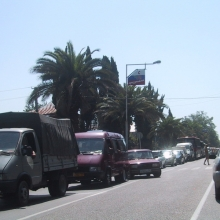 Пробка на ул.Ленина