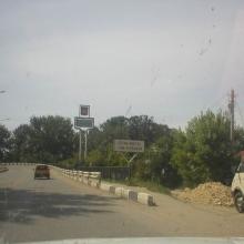 Въезжаем в Славянск-на-Кубани...
