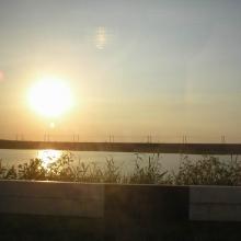 Закат. Ростовская область.