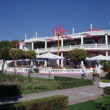 """Кафе """"Чайка"""" - самое большое и красивое в Кабардинке"""
