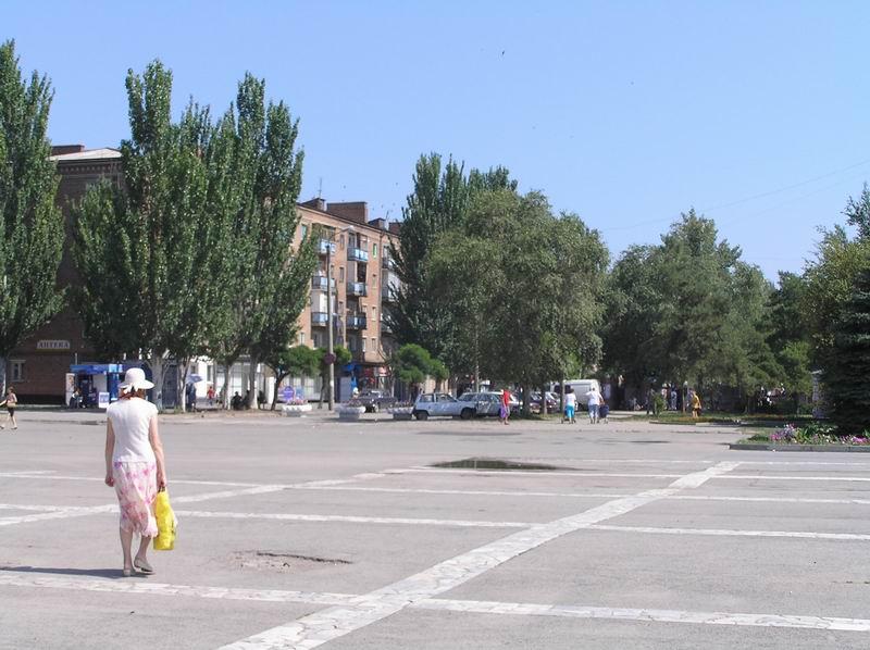 Волгодонск. Центральная площадь.