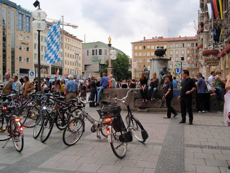 Мариенплац (Marienplatz) - сердце Мюнхена