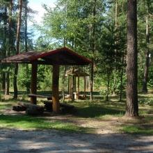 Площадка для отдыха на трассе