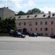 Дом, в котором жил Моцарт в 1773-80 г.