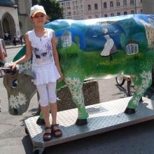 Один из символов Австрии - альпийские коровы