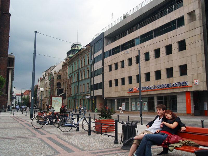 Площадь у костёла Св. Марии Магдалины