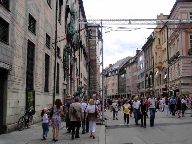 Резиденцштрассе (Rezidenzstrasse)