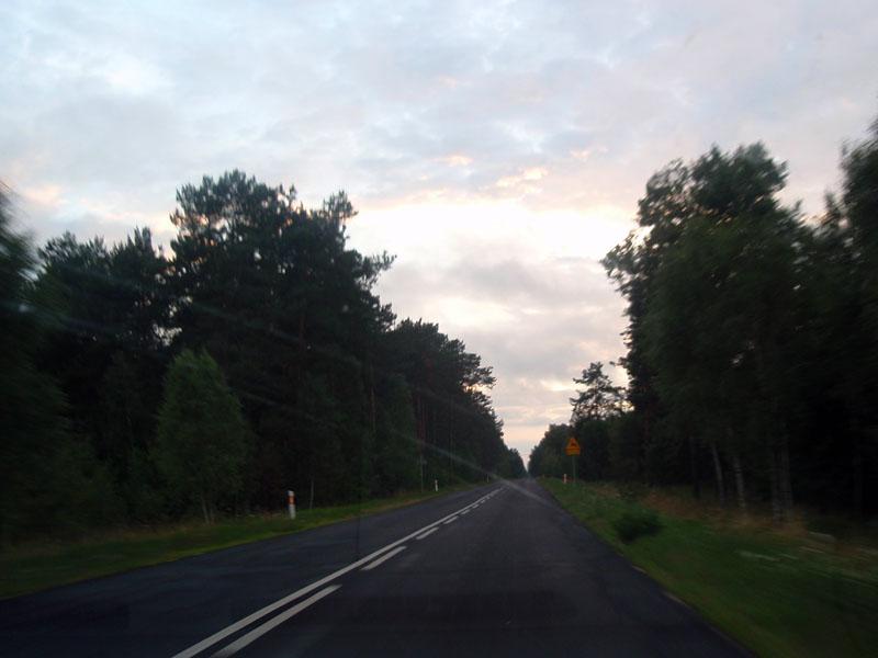 Сумерки в приграничной Польше