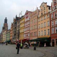 Рыночная площадь(Rynek). Северная сторона
