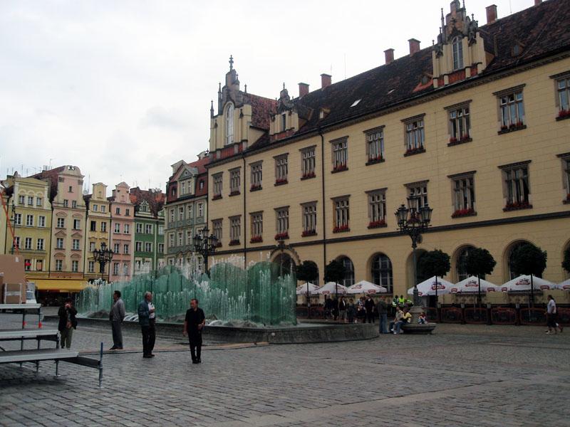 Рыночная площадь. Западная сторона
