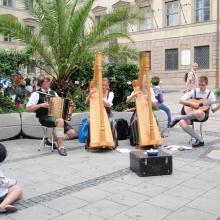Музыканты на Нойхаузерштрассе
