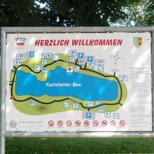 На озере Карлсфельдер (KarlsfelderSee)