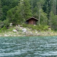 Озеро Айбзее (Eibsee)