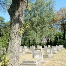 Вроцлав. Мемориальное кладбище воинов Советской Армии.