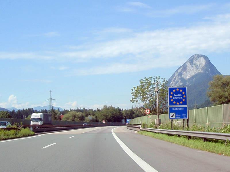 Граница Германия-Австрия