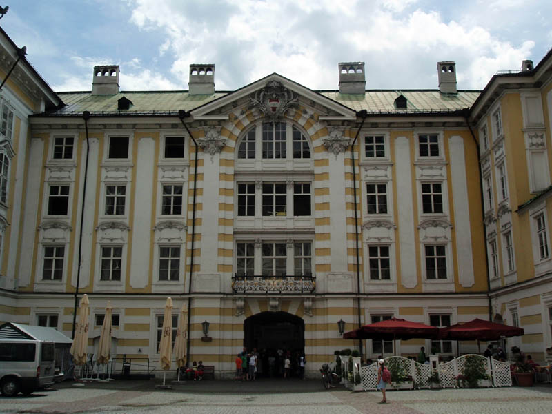 Дворец Хофбург (Kaiserliche Hofburg)
