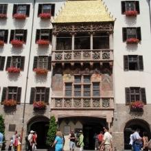 Символ Инсбрука - Золотая крыша (Goldenes Dachl)