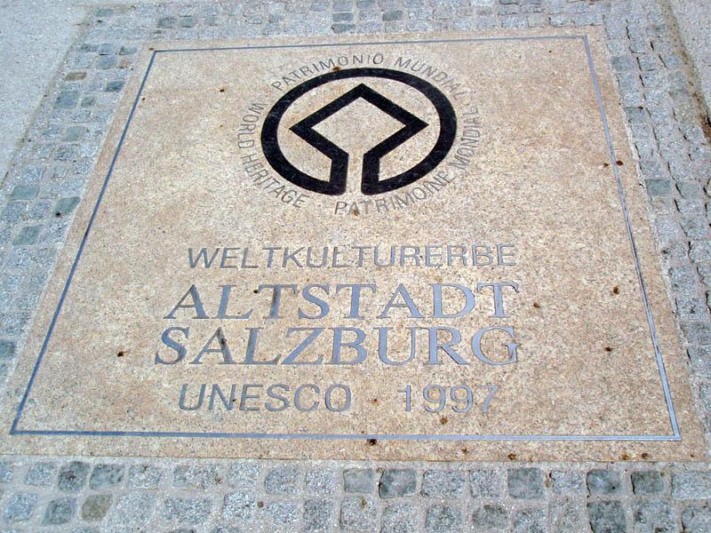 Старый Зальцбург - мировое культурное наследие ЮНЕСКО