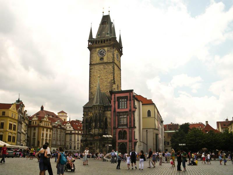 Староместсткая площадь. Городская ратуша