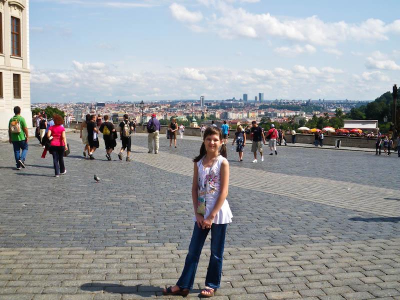 На Градчанской площади