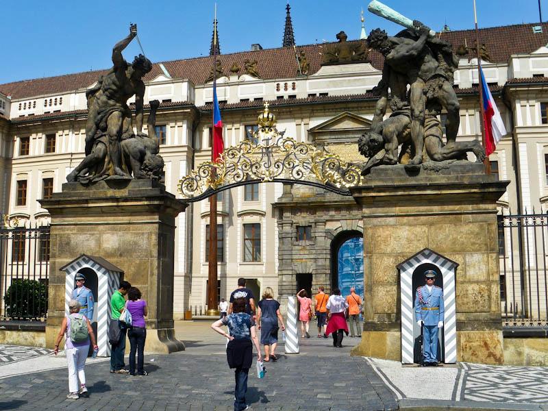 Главные ворота Града