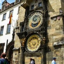 Астрономические часы мастера Гануша