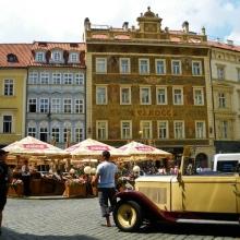 Прогулки по Праге на ретрокаре