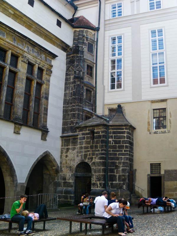 Внутренний дворик Старого королевского дворца