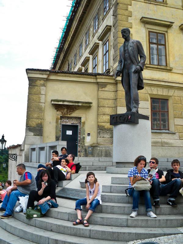 Памятник Томашу Гарригу Масарику (TGM), первому президенту Чехии