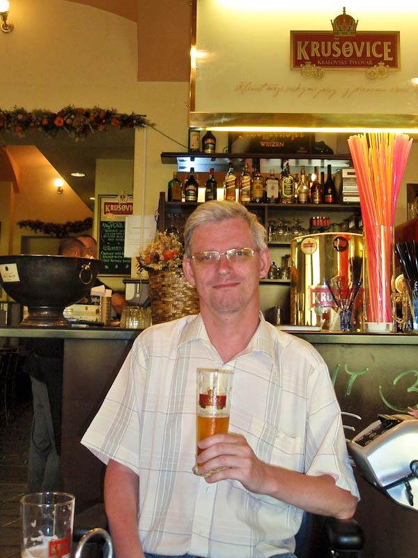 В баре `Крушовице`