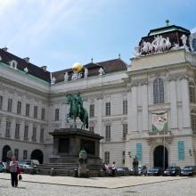 Хофбург. Йозефсплац и памятник императору Йозефу II