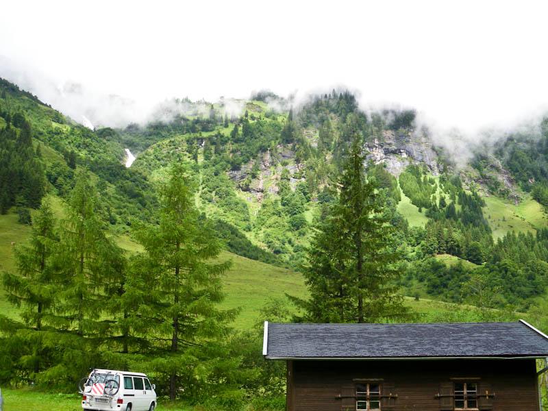 Туман укрывал вершины