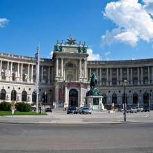Хофбург. Хельденплац и памятник принцу Ойгену