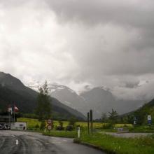 Въезд на Гроссглокнерштрассе