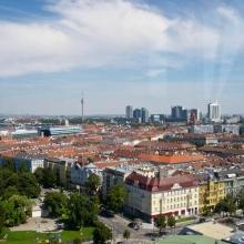 Вена. Вид сверху