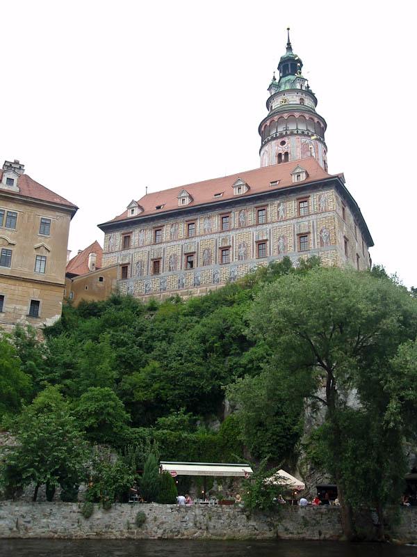Замок с разных ракурсов
